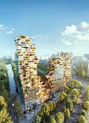 Nieuwbouw project Valley te Amsterdam