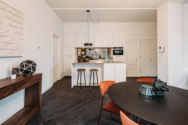 De Keizer Amsterdam woonkamer keuken