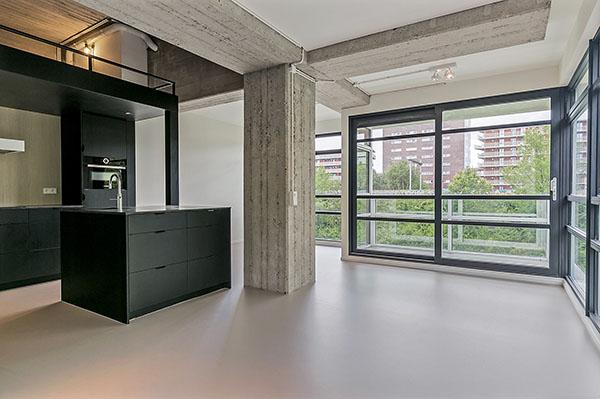 Maassluisstraat 414-416 Amsterdam woonkamer keuken